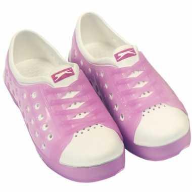Dames waterschoen van het merk slazenger in roze/wit