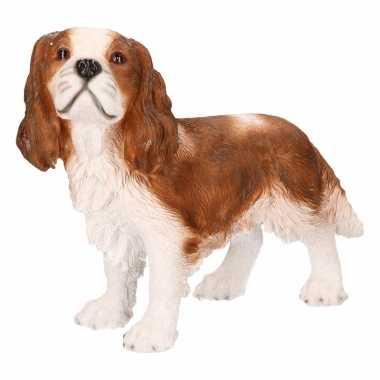 Decoratie beeld king charles hond 43 cm