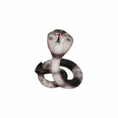 Decoratie cobra slang 15 cm