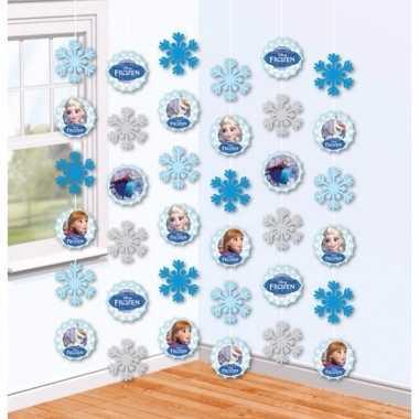Decoratie hangslingers frozen 2 meter
