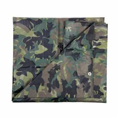 Dekzeil 2.85 x 4 meter camouflage