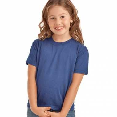Denim blauw t-shirt voor kinderen