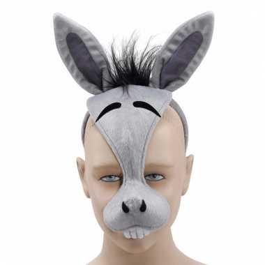 Diadeem masker van een ezel