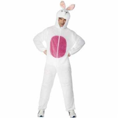 Dieren carnavalskleding konijn volw
