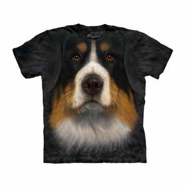 Dieren shirts berner sennen hondshond voor volwassenen