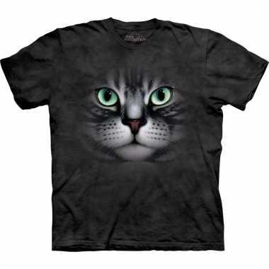 Dieren shirts cyperse kat voor volwassenen