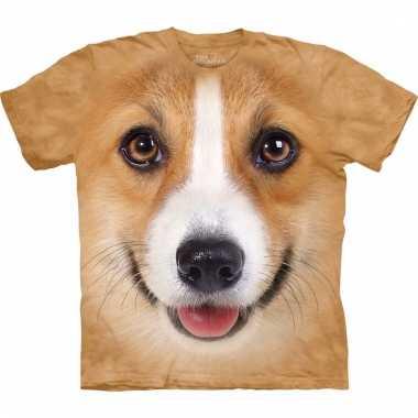 Dieren shirts welsh corgi pembroke hond voor kinderen