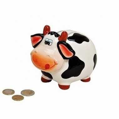 Dieren spaarpot koe 12 cm