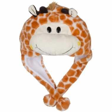 Dierenmuts girafje voor kinderen