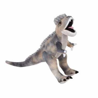 Dino knuffels velociraptor 30 cm