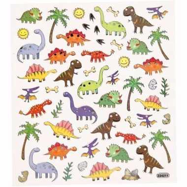 Dino thema kinder stickers