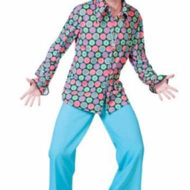 Disco blouse voor heren