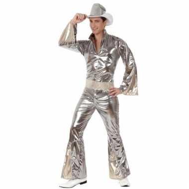 Disco pakken zilver voor heren