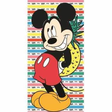 Disney mickey ananas handdoek