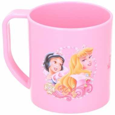 Disney princess beker lichtroze