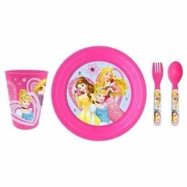 Disney prinsessen lunchservies voor kids