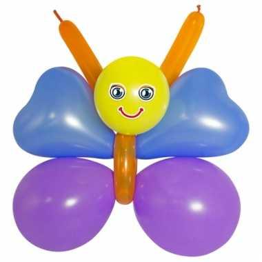 Doe het zelf setje vlinder van ballonnen