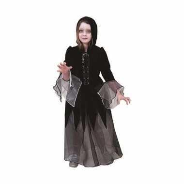 Dolores meisjes verkleedjurkje zwart