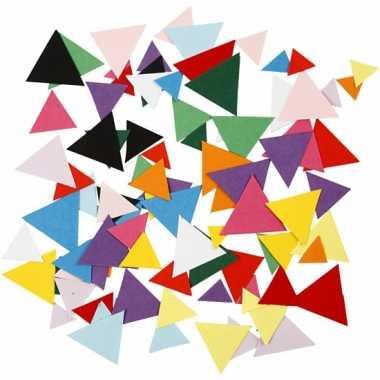 Driehoek knutselpapier 180 gram