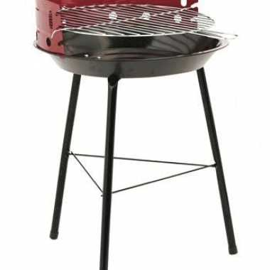 Driepoot barbecue met windscherm
