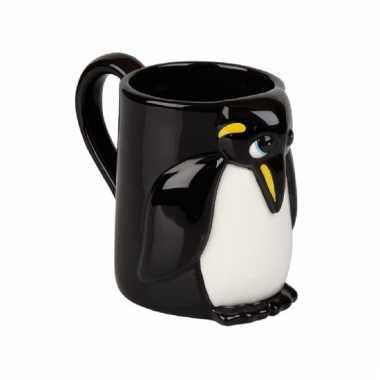 Drinkbeker pinguin 10 cm