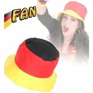 Duitse vlag zonnehoedje