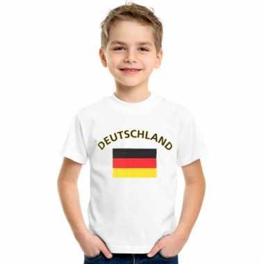 Duitse vlaggen t-shirts voor kinderen