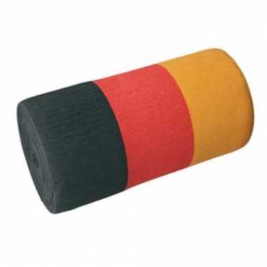 Duitsland kleuren slingers crepepapier