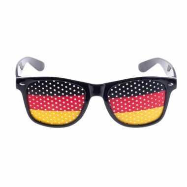 Duitsland vlag zonnebril