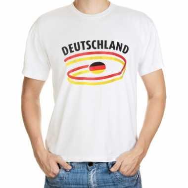 Duitsland vlaggen t-shirts heren