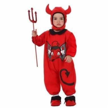 Duivel jumpsuit voor baby's