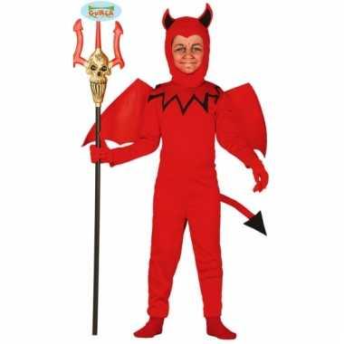 Duivel jumpsuit voor kinderen