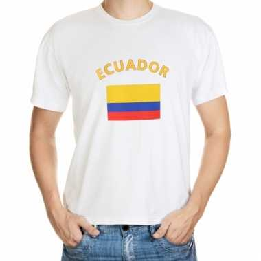 Ecuador vlaggen t-shirts