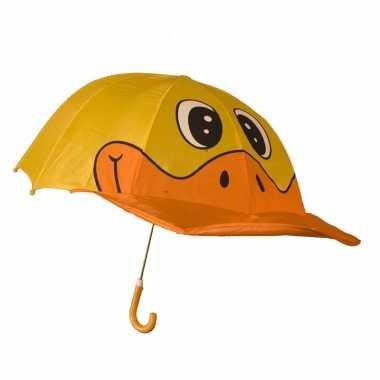 Eendenbek paraplu voor meisjes