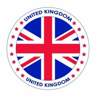 Engeland vlag print bierviltjes