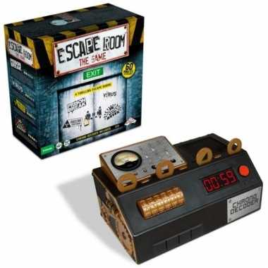 Escape room denkspel