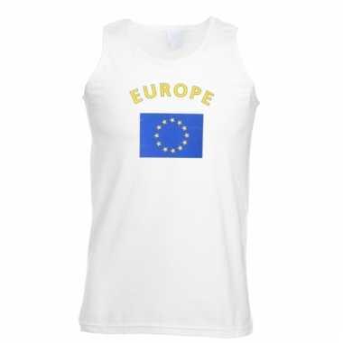 Europa vlaggen tanktop/ t-shirt
