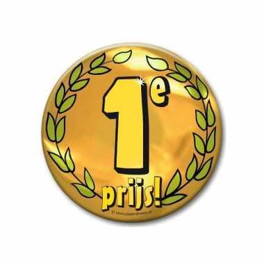 Extra grote button 1e prijs 10 cm