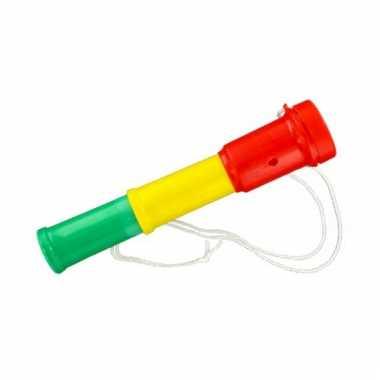 Fan toeter in de kleur rood/geel/groen