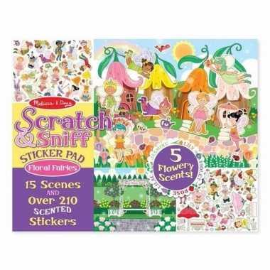 Fee/prinsessen reuk stickers 210 stuks