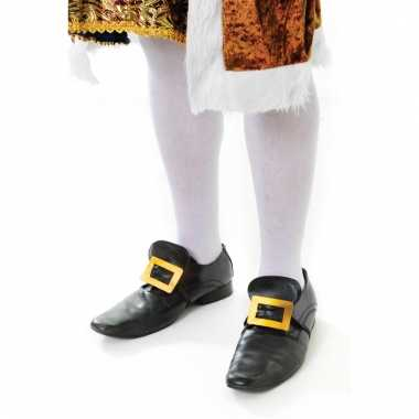 Feest lange witte sokken voor volwassenen