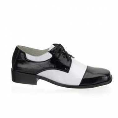 Feest schoenen zwart/wit