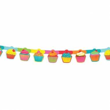 Feestartikelen cupcake slinger