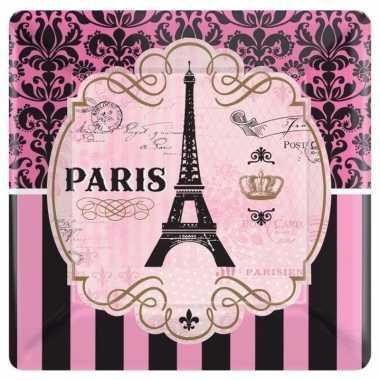 Feestbordjes parijs thema