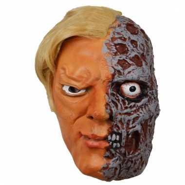 Feestmasker horror en mensen gezicht