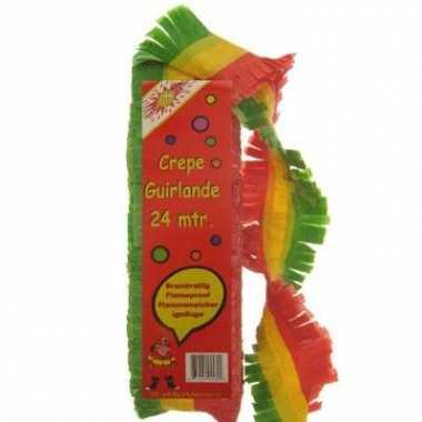 Feestslingers rood/geel/groen