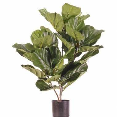 Ficus kunstplant 70 cm in pot voor binnen/buiten
