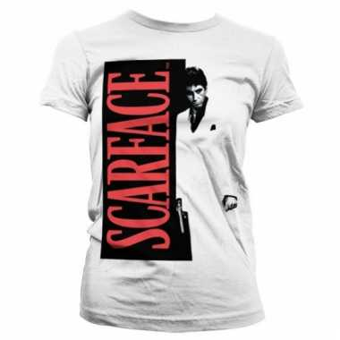 Film shirt scarface poster dames