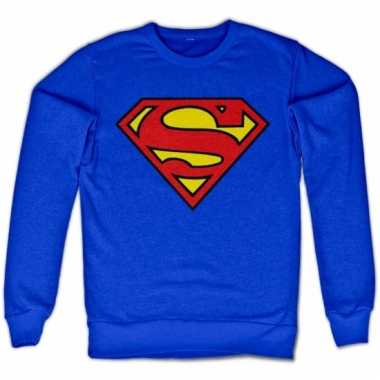 Film sweater superman logo unisex
