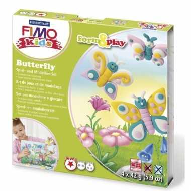 Fimo klei pakket vlinder